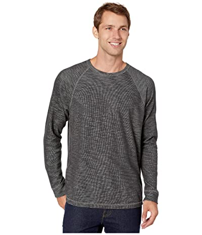 Tommy Bahama Duncan Deux Over Reversible Crew Sweater (Coal) Men
