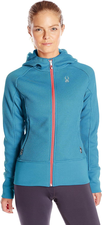 Spyder Women's Ardent Full-Zip Hoodie Sweatshirt