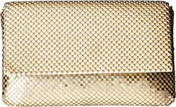 Jessica McClintock - Ariella Mesh Fold-Over Flap Clutch