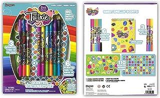 kangaru Twixie Scented Art Set with Gel Pens, Multi-Colour, 2842, 123 Pieces