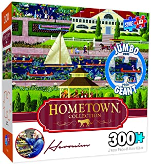 Surelox Hometown Collection Sunday in The Park Jigsaw Puzzle (300Piece)