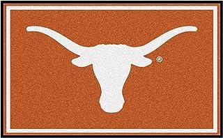 "FANMATS NCAA University of Texas Longhorns Nylon Face 4X6 Plush Rug,Team Color,46""x72"""