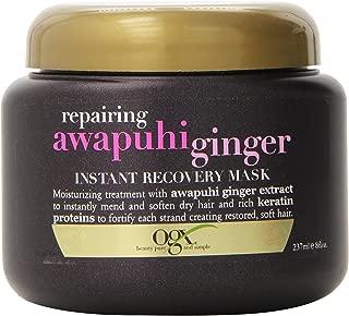 OGX Instant Recovery Mask, Repairing Awapuhi Ginger, 8oz
