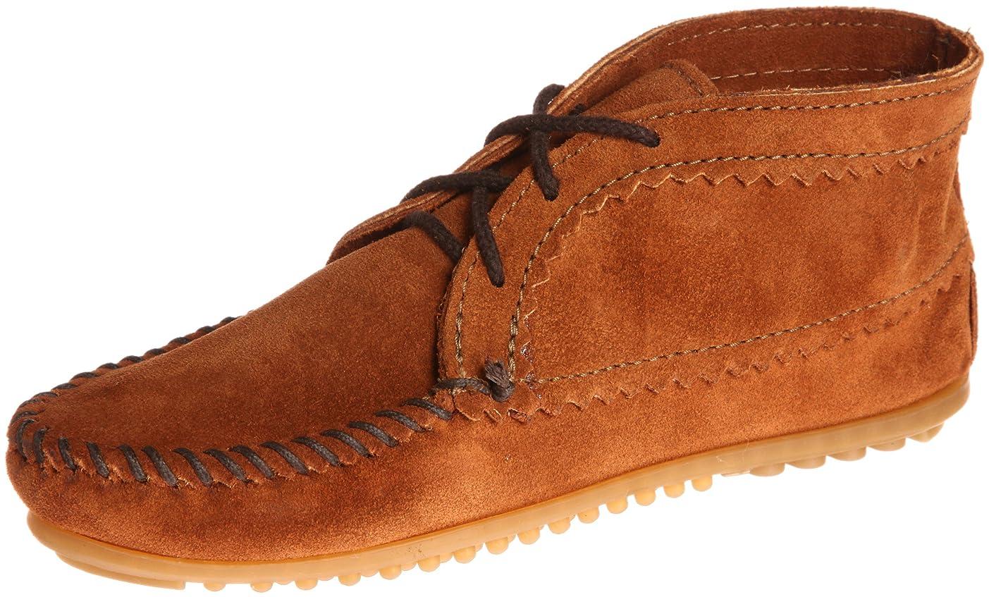 財団照らすどこでも[ミネトンカ] MINNETONKA 【公式】ブーツ SUEDE ANKLE BOOT