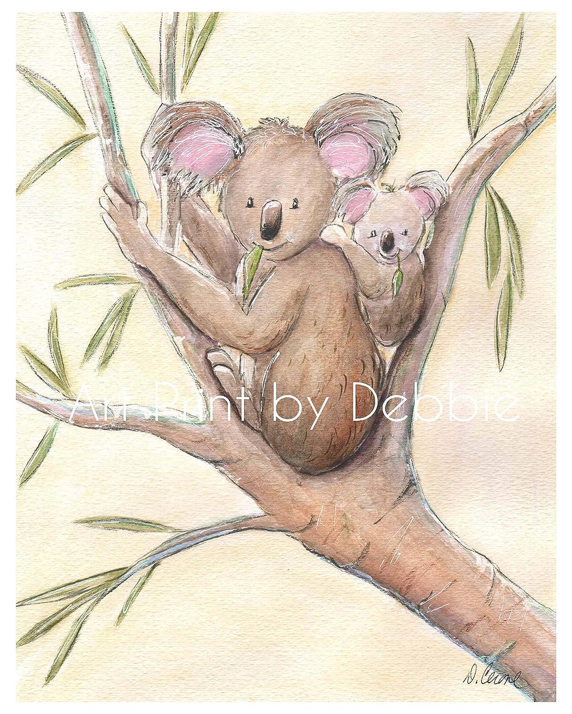 Koala New life Nursery Wall Art B Animal Cheap super special price Outback Australian