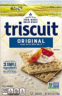 Triscuit Original Crackers, Non-GMO, 8.5 Ounce (Pack of 12)