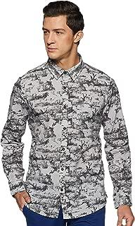 LEE COPPER Men's Printed Regular Fit Casual Shirt