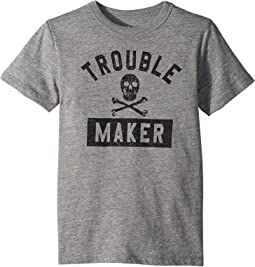 Chaser Kids Vintage Jersey Trouble Maker Tee (Little Kids/Big Kids)