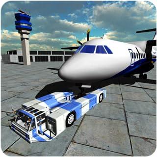 空港の航空便グランドスタッフシミュレーター3D