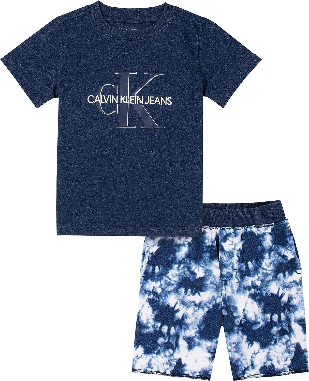Calvin Ranking TOP20 Klein Baby Boys' Pieces Shorts online shopping 2 Set