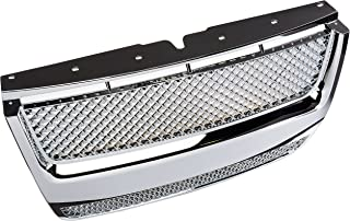 Spec-D Tuning HG-EPOR07STC Ford Explorer Sport Trac Chrome Mesh Hood Grill Honeycomb Grille