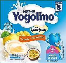 Iogolino Petit Postre Lácteo con Frutas Variadas a Partir de 8 Meses - Paquete de 4 x 100 gr - Total: 400 gr