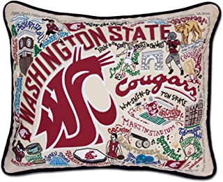 catstudio Washington State University Collegiate Embroidered Decorative Throw Pillow | Beautiful Award Winning Home Decor Artwork | Great for The Living, Family, Bed Rooms