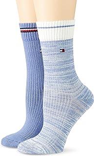 Tommy Hilfiger Rib Runfree Women's Socks Chaussette Crew Femme