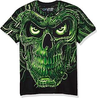 Fantasy Men`s Terminator Skull T-Shirt Black