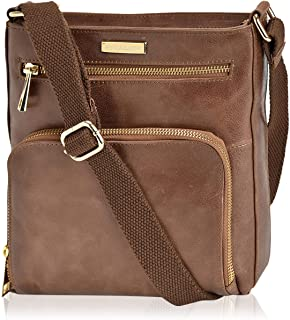 Crossbody Bags for Women - Real Leather Small Vintage...