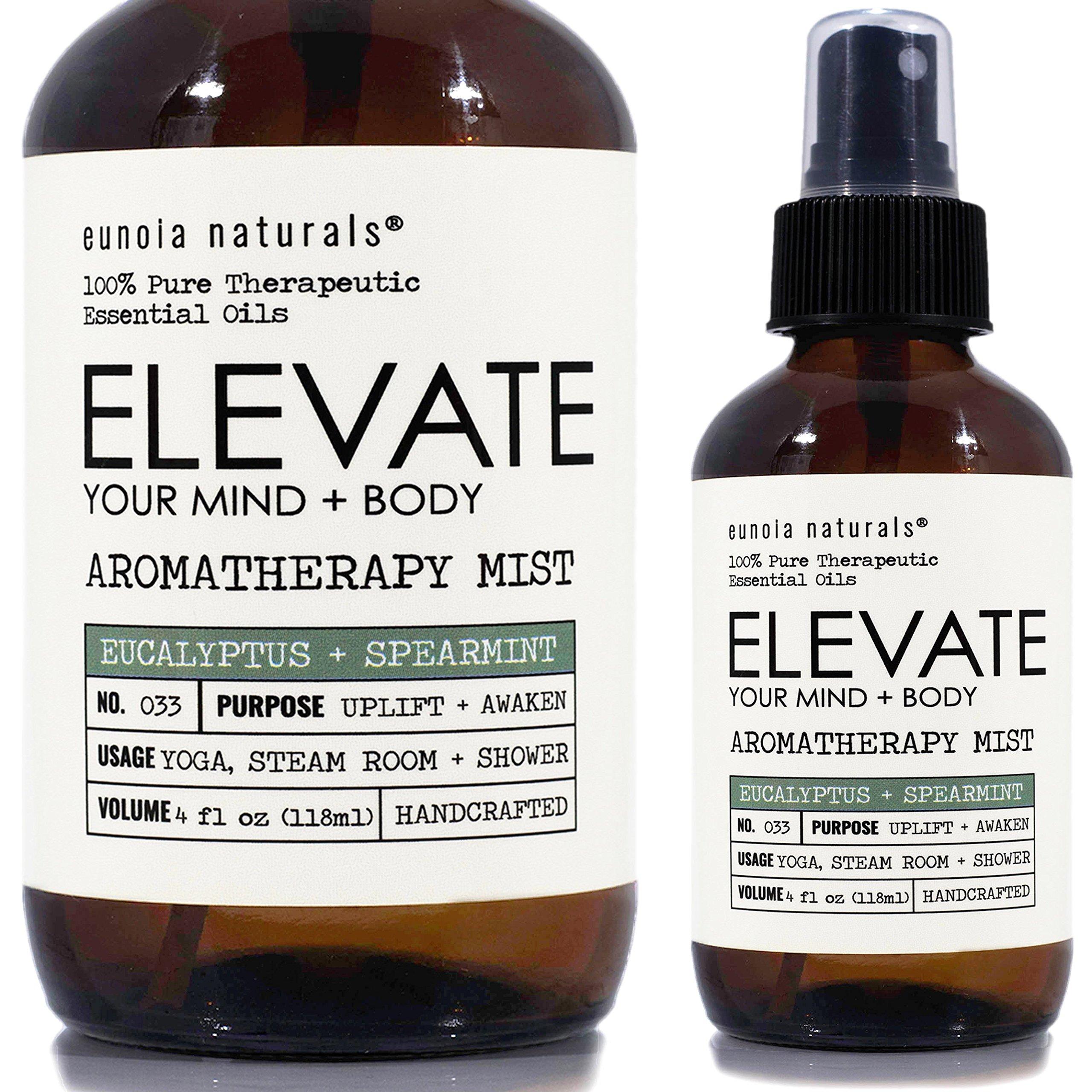 Eucalyptus Aromatherapy Refreshing Uplifting Essential