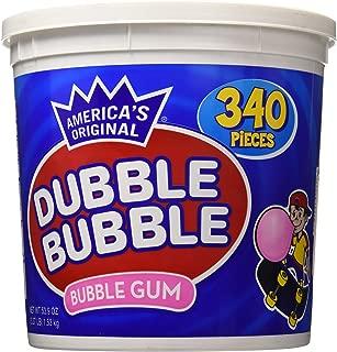 Dubble Bubble Gum, 53.9 Ounce - 340 Count Bucket