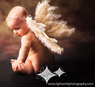 Angel Wings Costume Prop Free Halo Sale Baby angel Newborn to Toddler Choose size and color