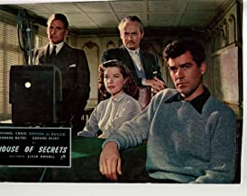 MOVIE POSTER: House Of Secrets-Michael Craig-Anton Diffring-GÃrard Oury-9x13-Color-Lobby Card
