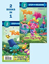 Color Day Party!/The Sound of Spring (DreamWorks Trolls) (Step into Reading)