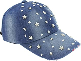 Best custom rhinestone baseball hats Reviews