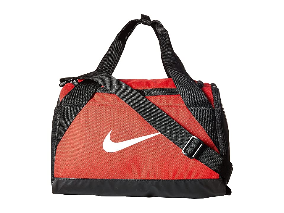 494bb7f2e4 Nike Brasilia Duffel Extra Small (University Red Black White) Duffel Bags