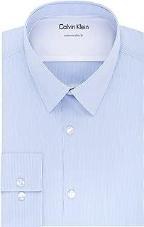 Men's Thermal Stretch Xtreme Slim Fit Stripe Dress Shirt
