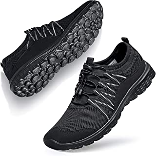 Walking Shoes for Women Sneakers Fashion Laceless go Walk Work Out Nursing Casual Gym Athletic Sport Travel Bowling Outdoo...