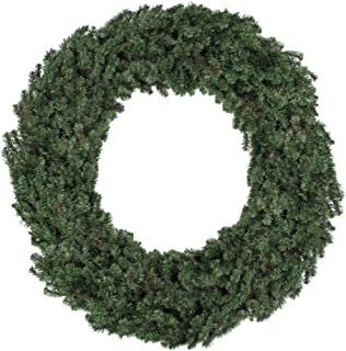 Northlight 5' Commercial Size Canadian Pine Artificial Christmas Wreath - Unlit