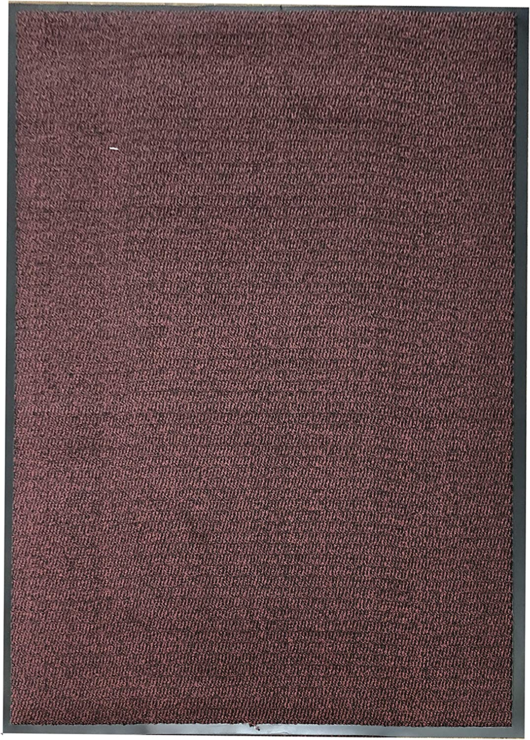 UAREHOME HEAVY DUTY NON SLIP BARRIER MAT LARGE SMALL RUGS RUNNER KITCHEN DOOR HALL 60x180, Red