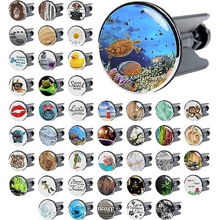 deckt den kompletten Abflussbereich ab ✶✶✶✶✶ Waschbeckenst/öpsel Starfish XXL viele sch/öne St/öpsel zur Auswahl