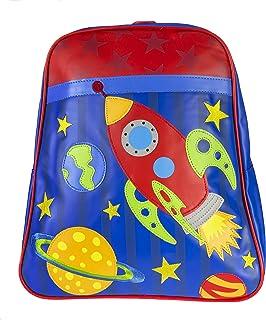 Stephen Joseph Little Boys' Go Go Bag, Space, One Size