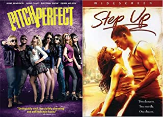 Singing and Dancing Competition Duo DVD - Pitch Perfect and Step Up 2-Movie Bundle
