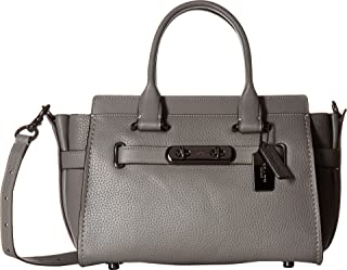 COACH Womens Swagger 27 in Pebbled Leather