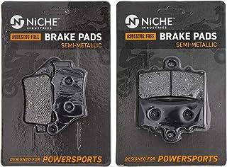 NICHE Brake Pad Set for KTM 390 Duke RC 90113090000 90113030000 Complete Semi-Metallic