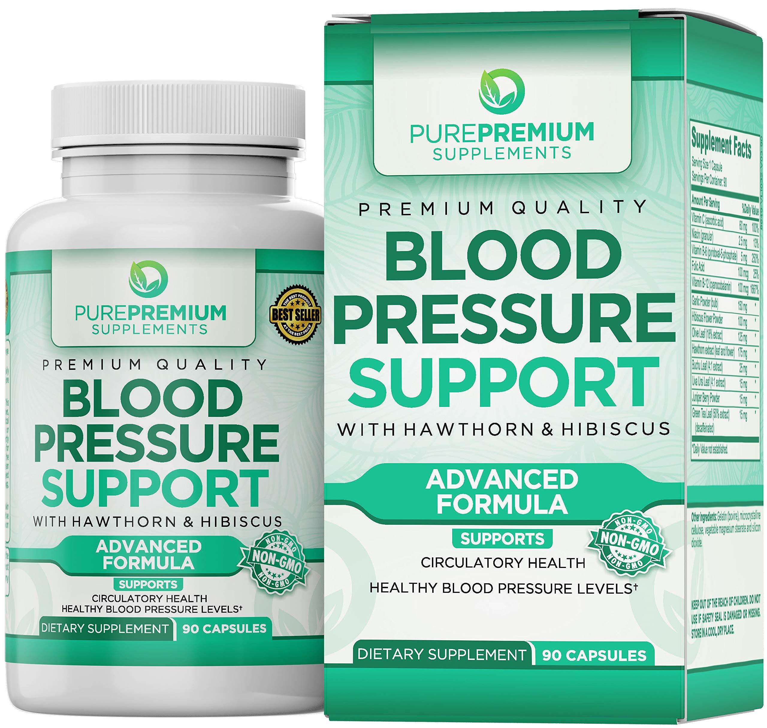 Supplement PurePremium Anti Hypertension Cardiovascular Circulatory