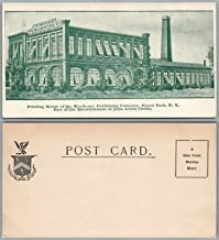 FLORAL PARK N.Y. MAYFLOWER PUBLISHING COMPANY UNDIVIDED ANTIQUE POSTCARD