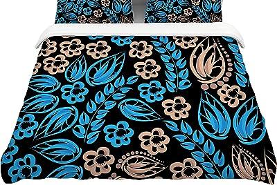 104 x 88 104 x 88 Kess InHouse Stephanie Vaeth Fitness King Cotton Duvet Cover