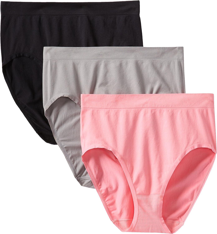 Fruit of the Loom Women's Plus-Size Seamless Brief Panties