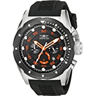 Invicta Men's 20305 Speedway Stainless Steel Watch with Black Band