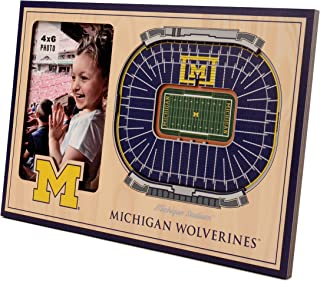 YouTheFan NCAA 8x12 3D StadiumViews Frame: Picture Frame and 3D Artwork Combo