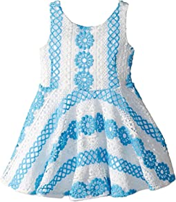 fiveloaves twofish Crochet Skater Dress (Toddler/Little Kids)
