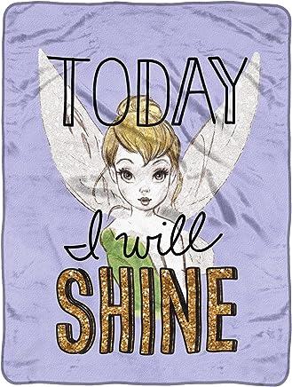 Disney's Tinkerbell,  Shine Today Micro Raschel Throw Blanket,  46 x 60,  Multi Color
