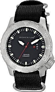 Momentum Watch Corp Torpedo Watch with Black Face - Men39;s