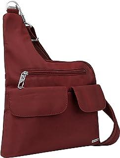 Travelon Anti-theft Cross-body Bag, Wine