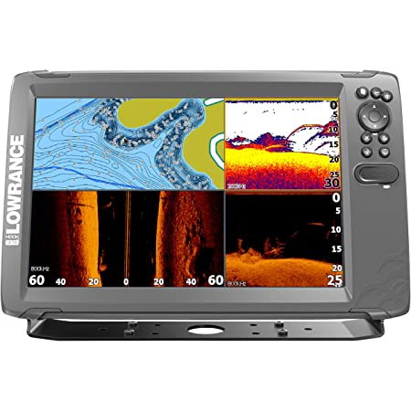Lowrance HOOK2-12 Fish Finder with TripleShot Transducer 00014305001