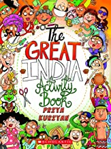 The Great India Activity Book [Paperback] Designed and illustrated by Priya Kuriyan