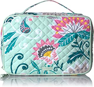 Vera Bradley Signature Cotton Large Blush & Brush Makeup Organizer Case