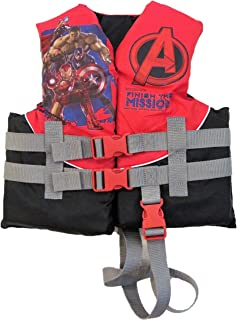 Exxel Outdoors Marvel Avengers Assemble Child's Life Jacket / Vest 30-50lbs